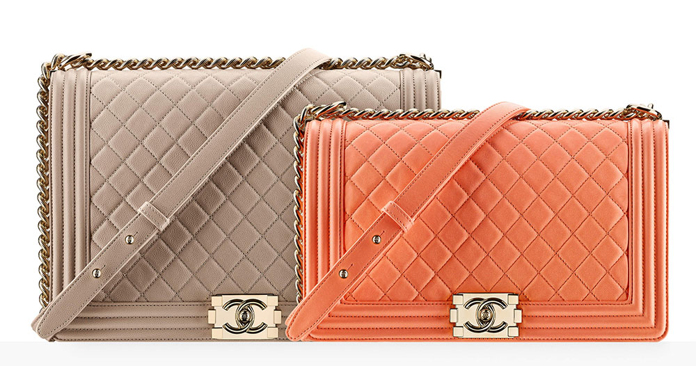 Chanel Boy Bags 5 500 And 200