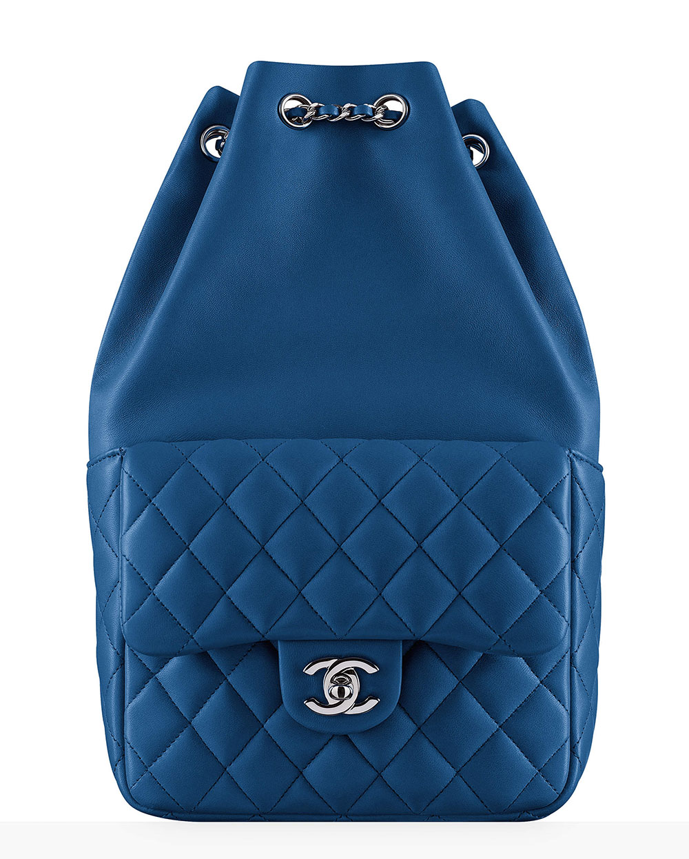 Chanel-Drawstring-Backpack-Blue-3300 - PurseBlog 05951cb74718d