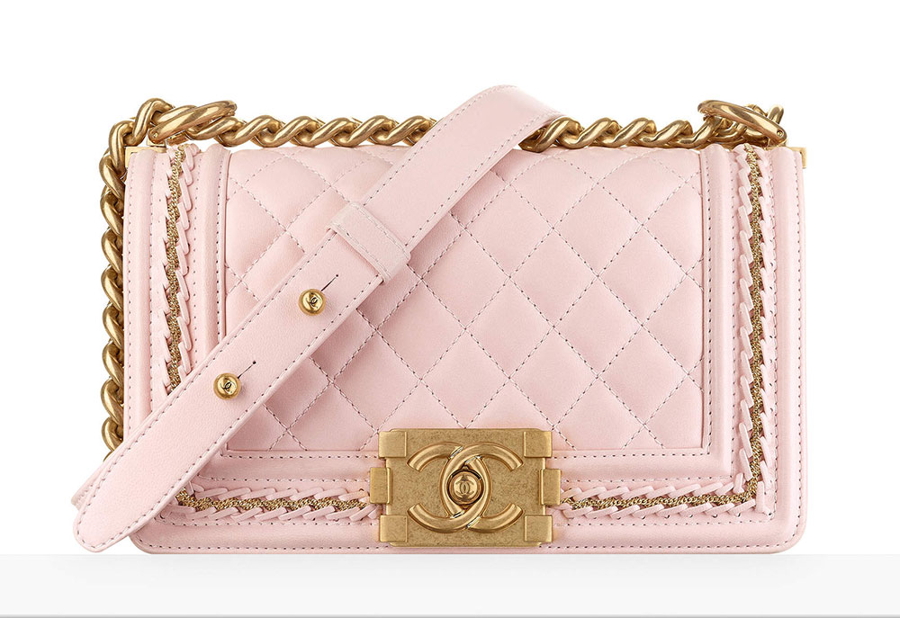 Chanel Small Boy Bag Pink 4700