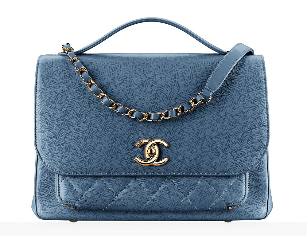 Chanel Top Handle Flap Bag
