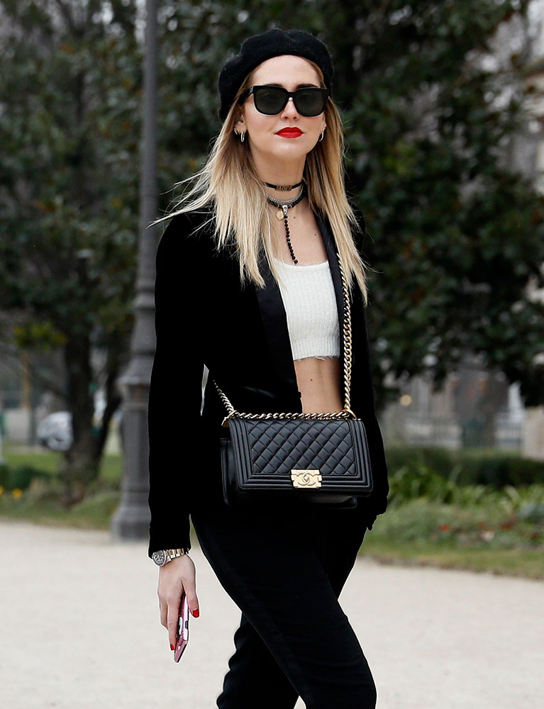 The best celebrity bag looks from paris haute couture week for Garderobe 33 style blog