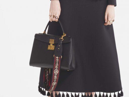 caf3a1f0f8ec Dior s New Creative Director Mixes Disparate Vintage Eras for Pre-Fall 2017  Bags
