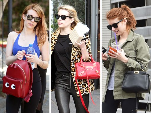 The Many Bags Of Emma Roberts Part Two