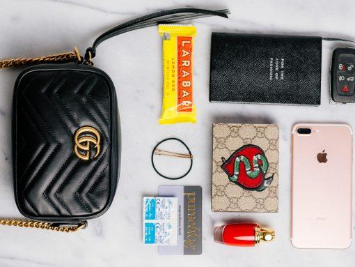 What Fits: Gucci GG Marmont Mini Matelassé Camera Bag