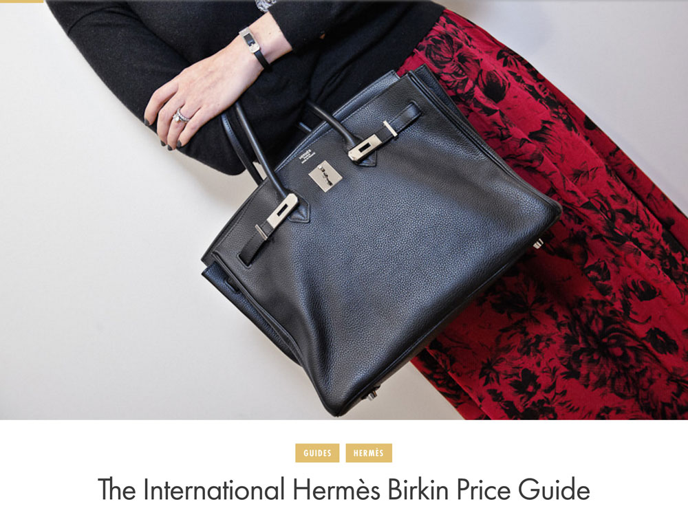 b6bdfea428ca The International Hermès Birkin Price Guide - PurseBlog
