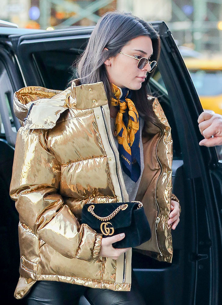 Celebs Shape Up and Sup with Bags from Versace, Fendi ...