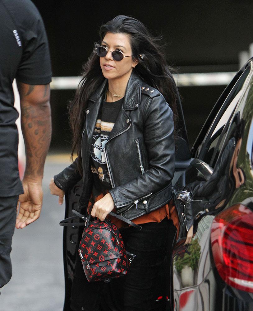 Kourtney-Kardashian-Louis-Vuitton-Palm-Springs-Infrarouge-Mini-Backpack 7c7dcbfd57bce