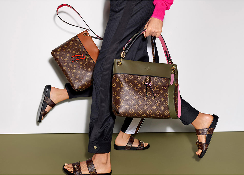 introducing the louis vuitton monogram colors
