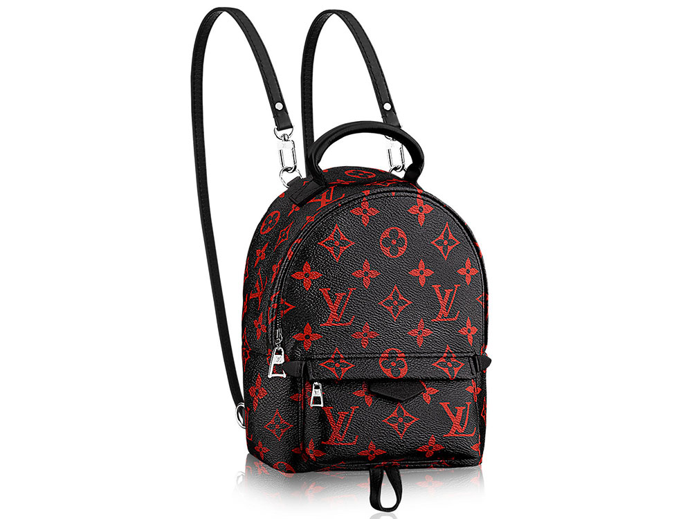the louis vuitton palm springs mini backpack is the bag of. Black Bedroom Furniture Sets. Home Design Ideas
