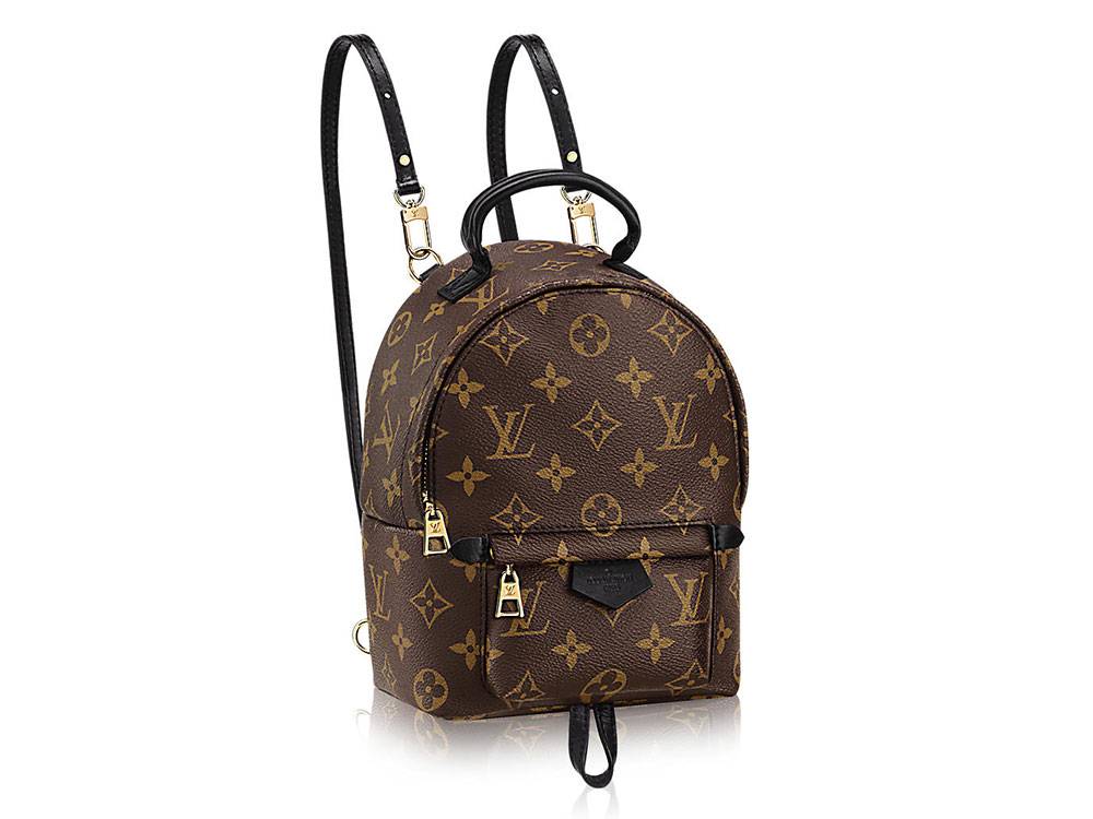 cdefaab42092 The Louis Vuitton Palm Springs Mini Backpack is the Bag of the ...