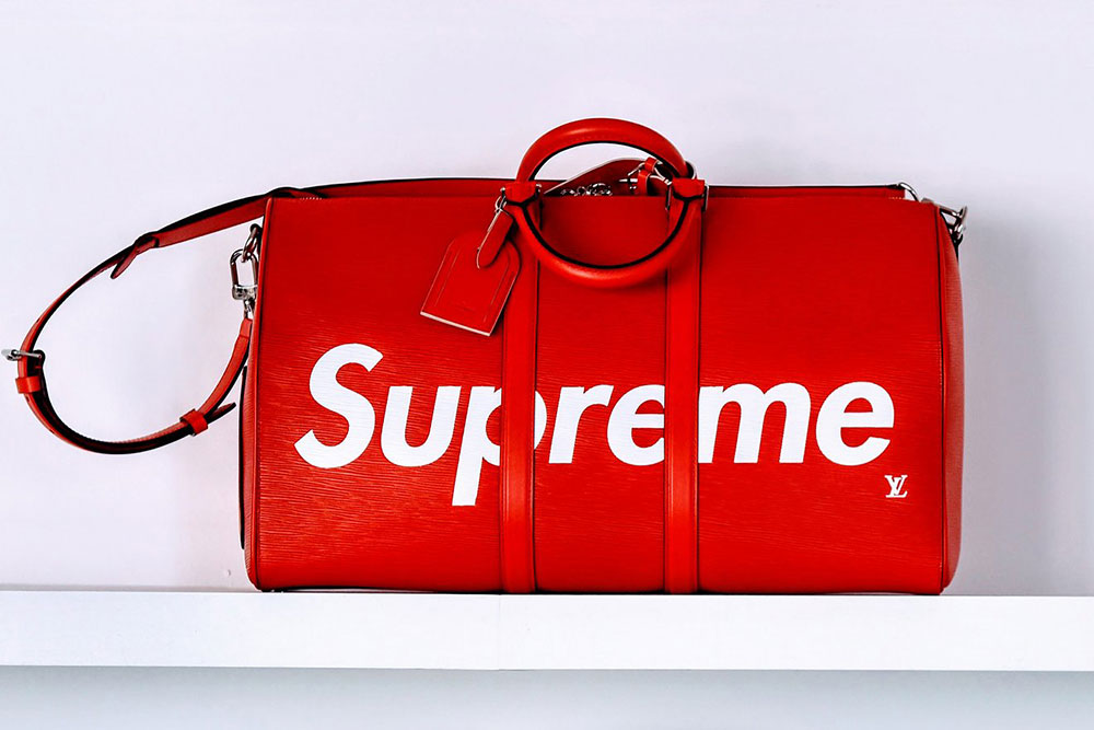 1f4c2b37d7 Louis Vuitton Teams Up With Supreme for Fall 2017 Men s Bags and  Accessories That are Sure to Sell Out