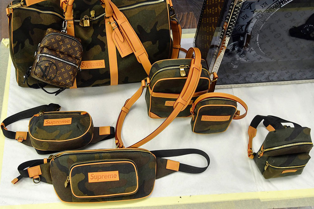 9e47841ebbf3f Louis Vuitton Teams Up With Supreme for Fall 2017 Men s Bags and ...