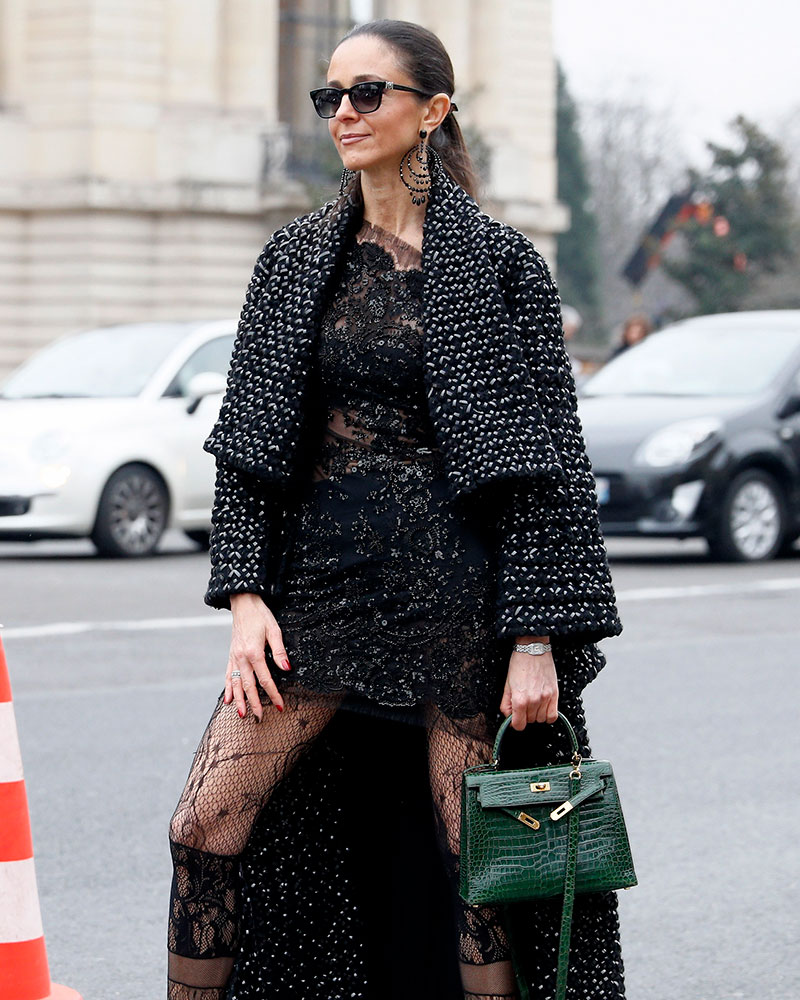 The Best Celebrity Bag Looks From Paris Haute Couture Week