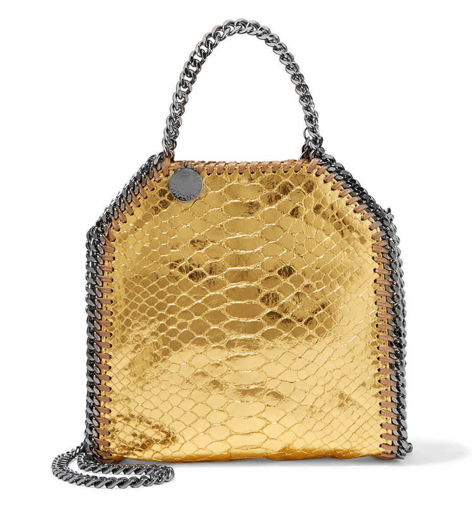 d8e713dfffd0c Stella-McCartney-Faux-Python-Mini-Falabella-Bag - PurseBlog