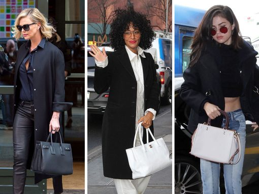 Last Week, Celebs Were on the Move with Louis Vuitton, Gucci and Coach