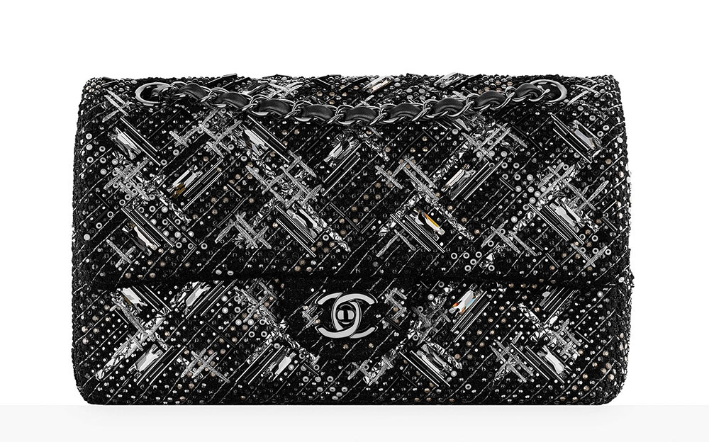 3a58fe081210 Chanel-Embroidered-Tweed-Classic-Flap-Bag-11000 - PurseBlog