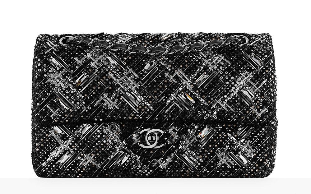 7b684f682837 Chanel-Embroidered-Tweed-Classic-Flap-Bag-11000 - PurseBlog