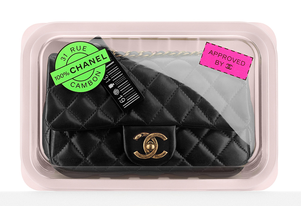 Chanel Meat Package Flap Bag Fall 2014 d8809a27195b9