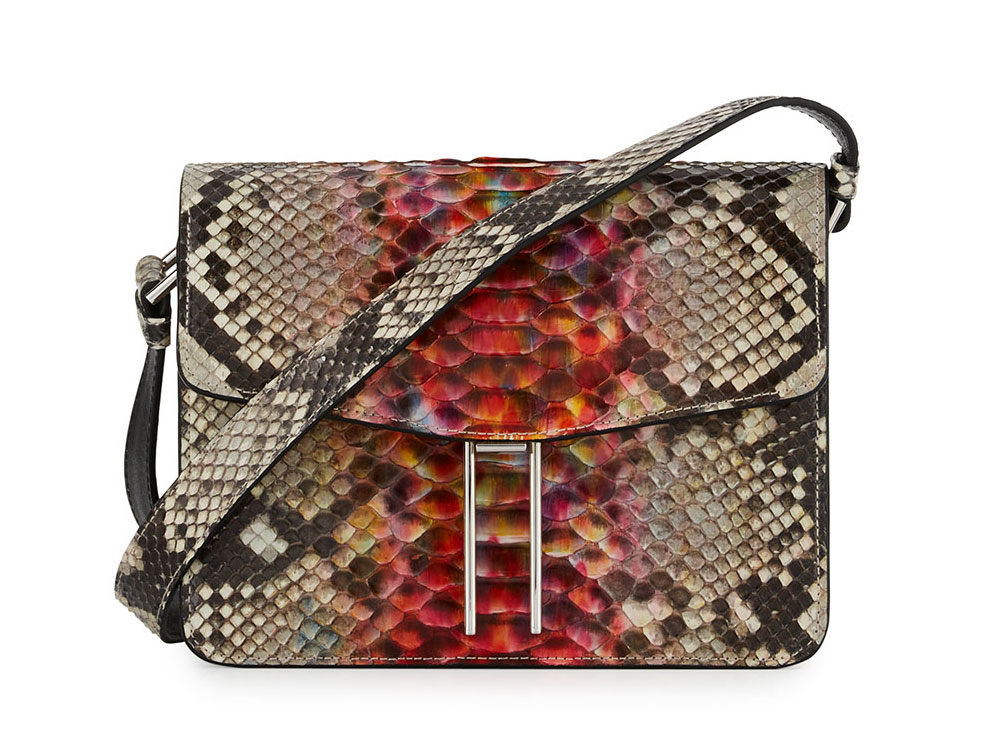 Hayward Python Mini Crossbody Bag