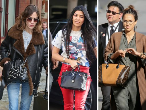 Celebs Travel By Train & Plane All Over the US and Europe with Bags from Louis Vuitton & Gucci