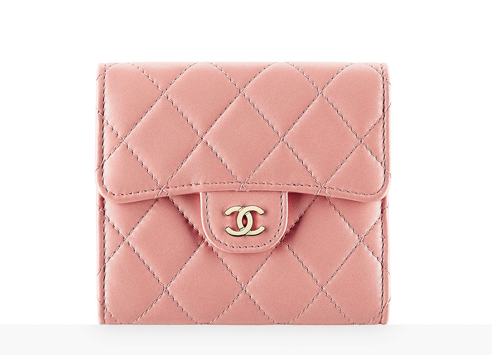 chanel key pouch. chanel classic small wallet key pouch