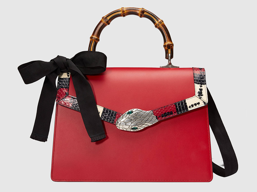 7437d922e3a4 Gucci's Wild, Wonderful Spring 2017 Bags are Now Available–Check Out Some  of the Best