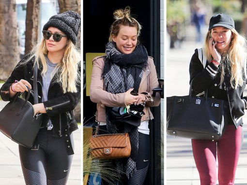 Hilary Duff Has Kept a Lower Paparazzi Profile Lately, But Her Bags are Still Great