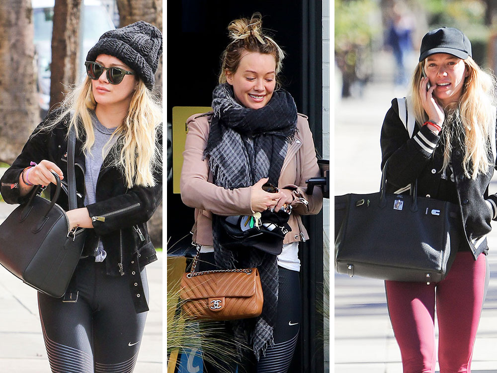 497e0466276120 Hilary Duff Has Kept a Lower Paparazzi Profile Lately, But Her Bags are  Still Great