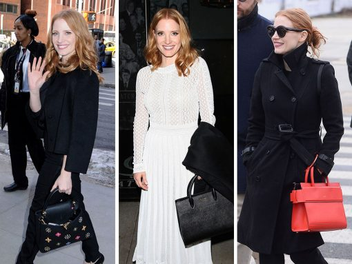 Paparazzi Rarely Spots Jessica Chastain, but When They Do, Her Bags are Always Great