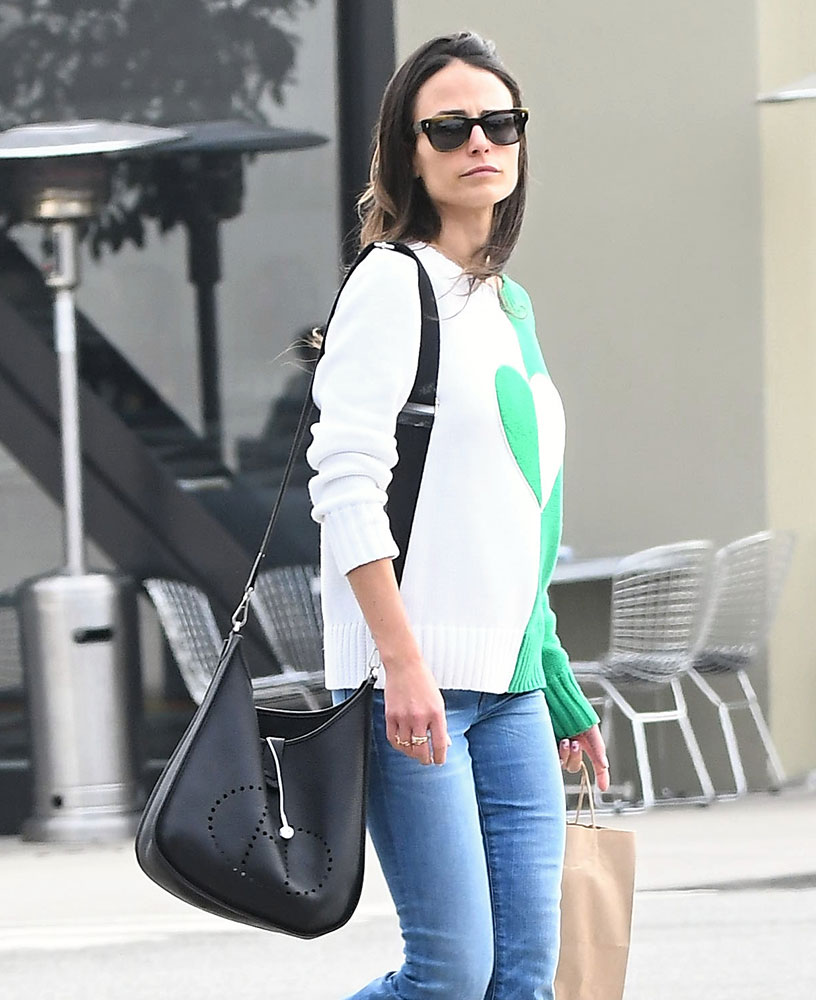 Just Can t Get Enough  Jordana Brewster and Her Hermès Evelyne Bags ... 892b858b743d