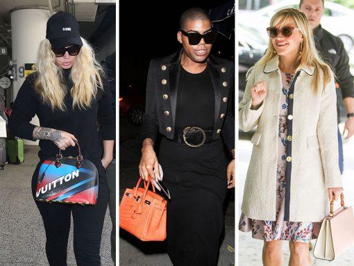 Celebs Love Pale Pink, Louis Vuitton, Birthdays, & Gucci, In That Order