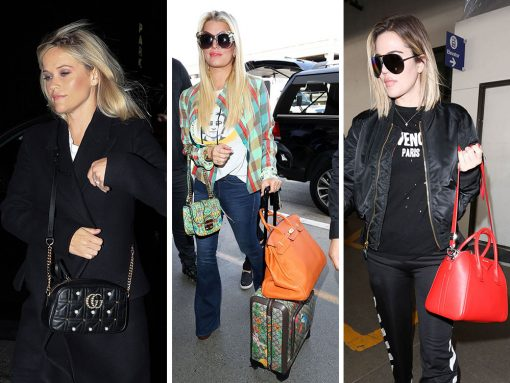 Celebs Amp Up the Sparkle and Flash with New Bags from Gucci, Miu Miu and Rochas