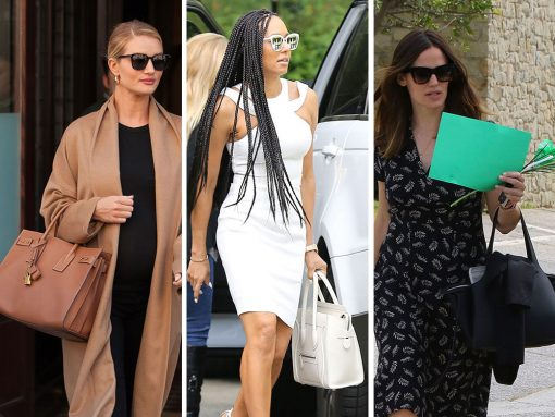 This Week, Celebs Live That Luxe Life with Bags from Céline, Dior, & The Row