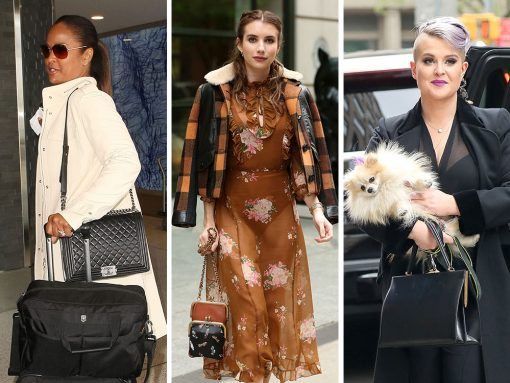 This Week, A-List Celebs Upped Their Bag Game with Alaïa, Chanel and Dior