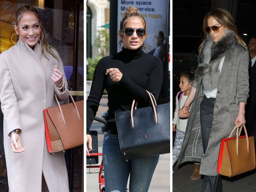 Just Can't Get Enough: Jennifer Lopez and Her Christian Louboutin Paloma Bags