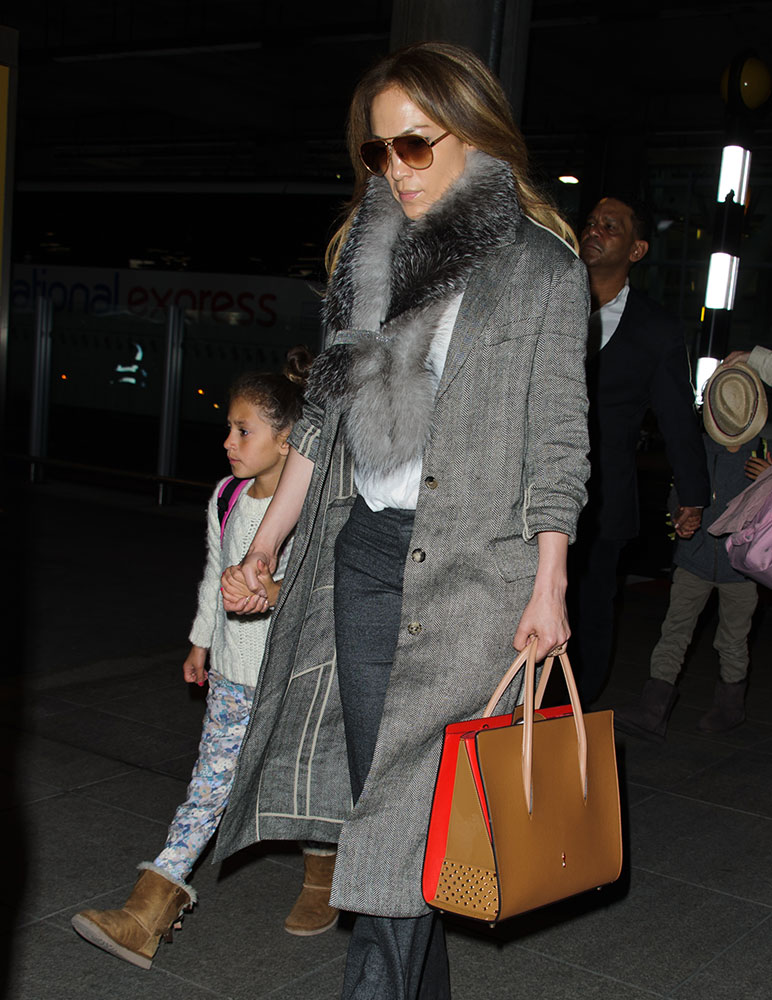 3b08baa7799e Just Can t Get Enough  Jennifer Lopez and Her Christian Louboutin Paloma  Bags - PurseBlog