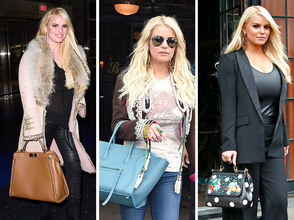 8eb0b5d623 The Many Bags of Jessica Simpson