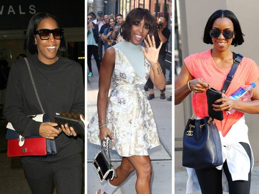 Since We Last Checked on Kelly Rowland, She's Added a Ton of Bags to Her Collection