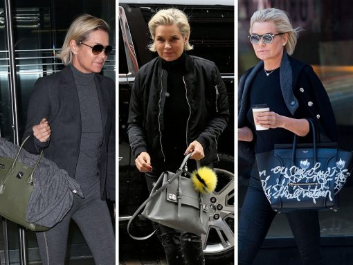 We Think Yolanda Hadid is the Likely Source of Her Model Daughters' Good Taste in Bags