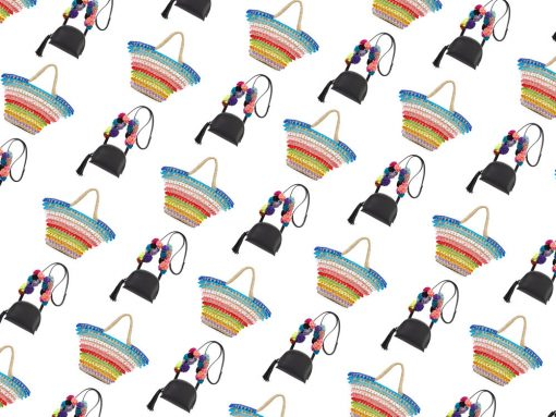 So What's the Deal with All the Pompom and Tassel Bags This Spring?