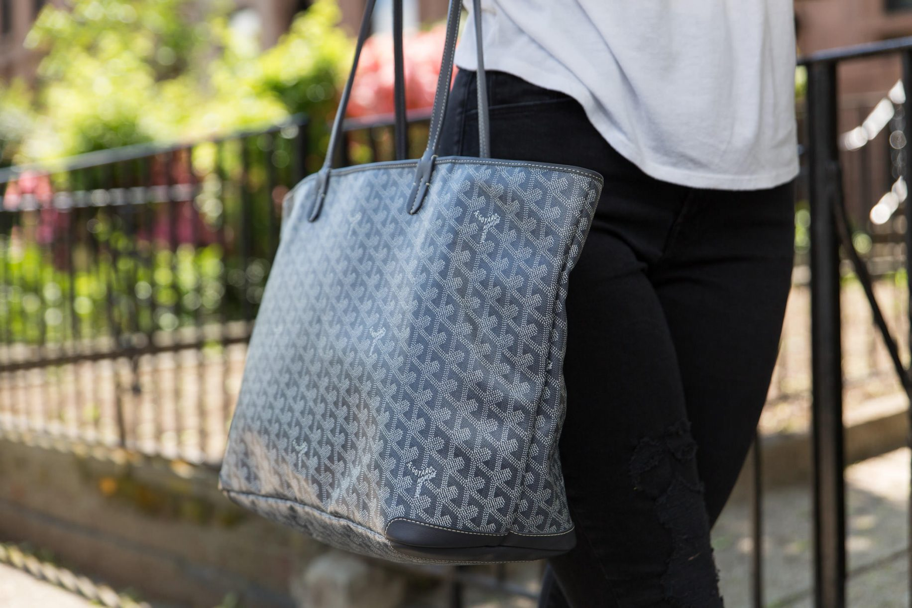 loving lately  goyard u0026 39 s artois tote does it all