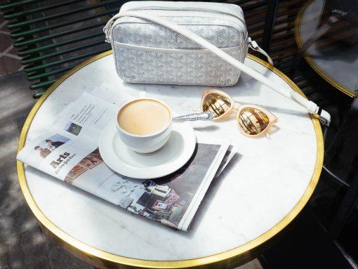 Loving Lately: Goyard's Cap Vert Bag is the Perfect Summer Crossbody