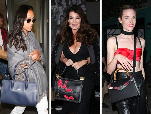 This Week, Celebs Partied and Jetted Around with Bags from Chanel, Gucci, & Valentino