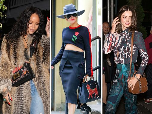 Right Now, Celebs are Going for Colorful, Beaded, Crystal-Embroidered Bags from Gucci, Dior and Saint Laurent