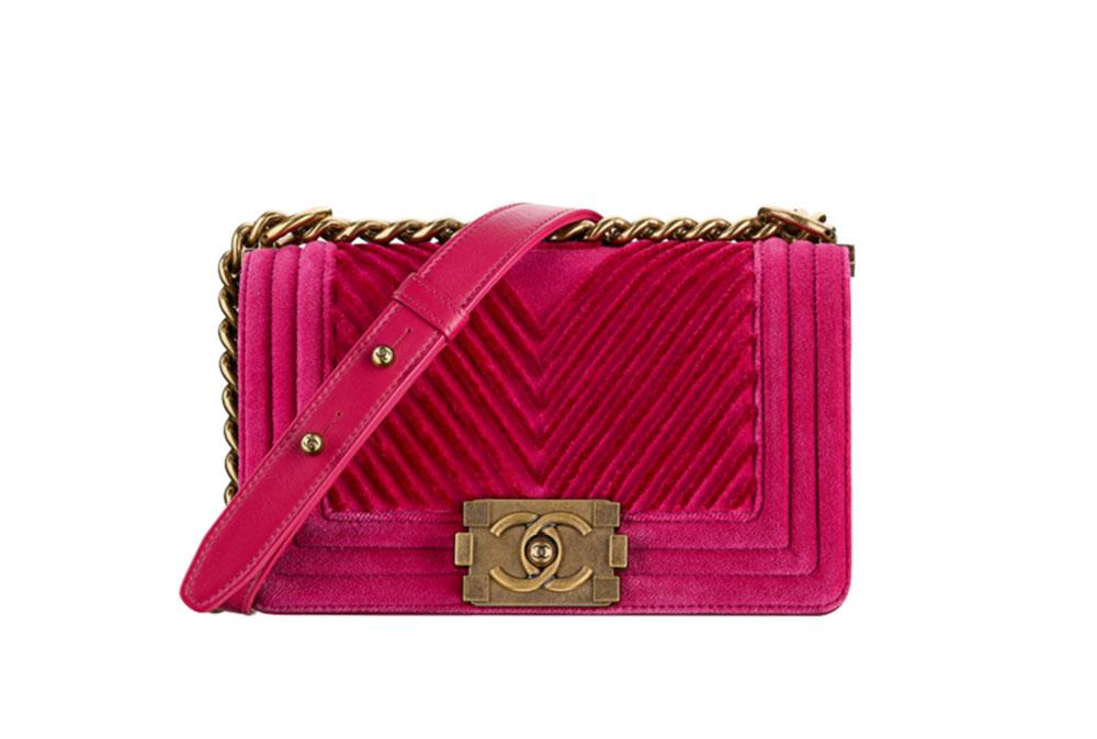 a94c4370a7e9 Chanel-Small-Boy-Bag-Velvet-Pink-3800 - PurseBlog
