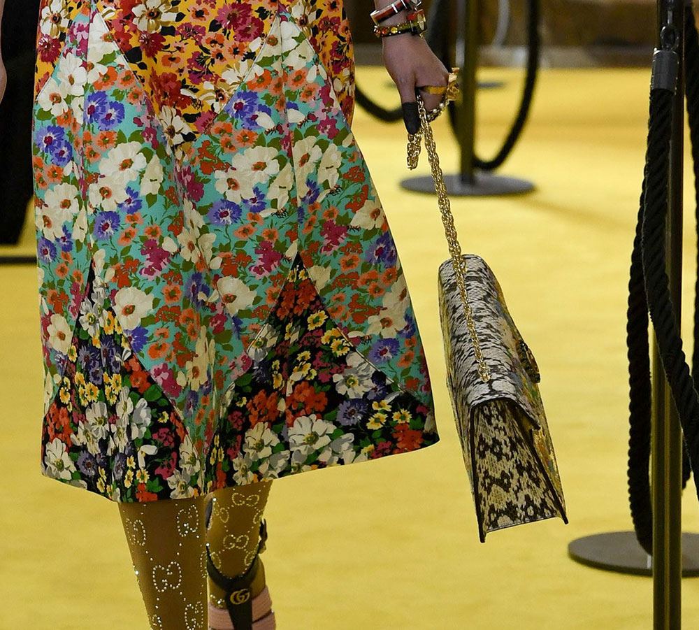 Gucci Debuts New Shoulder Bag Styles And More At Its Cruise 2018 Runway Show Purseblog
