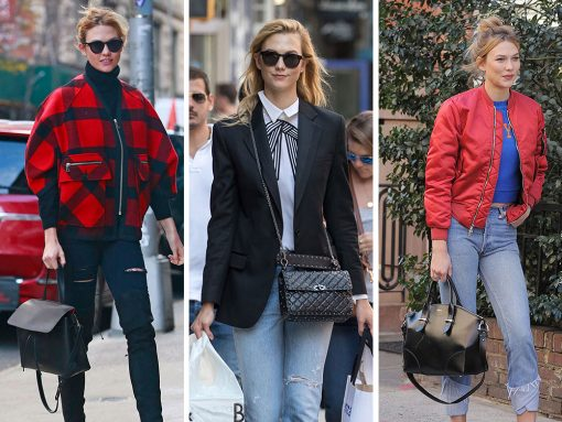 Karlie Kloss is Here to Model All of Her Favorite Black Bags For Your Enjoyment