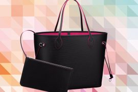Latest Obsession: The Louis Vuitton Neverfull Tote in Contrast Epi Leather