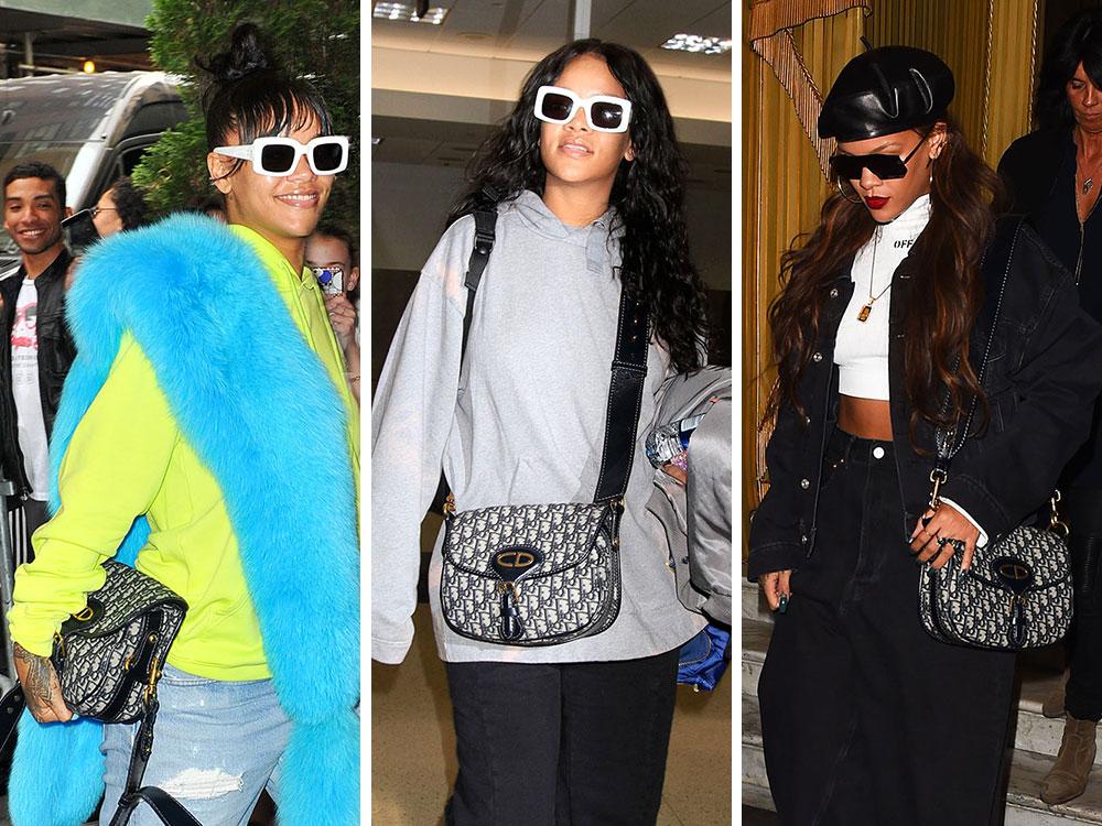 bb110a0697 Just Can't Get Enough: Rihanna and Her Dior Saddle Bag - PurseBlog