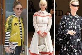 Celebs Pack Into Valentino's Resort 2018 Show with Valentino Bags, Naturally